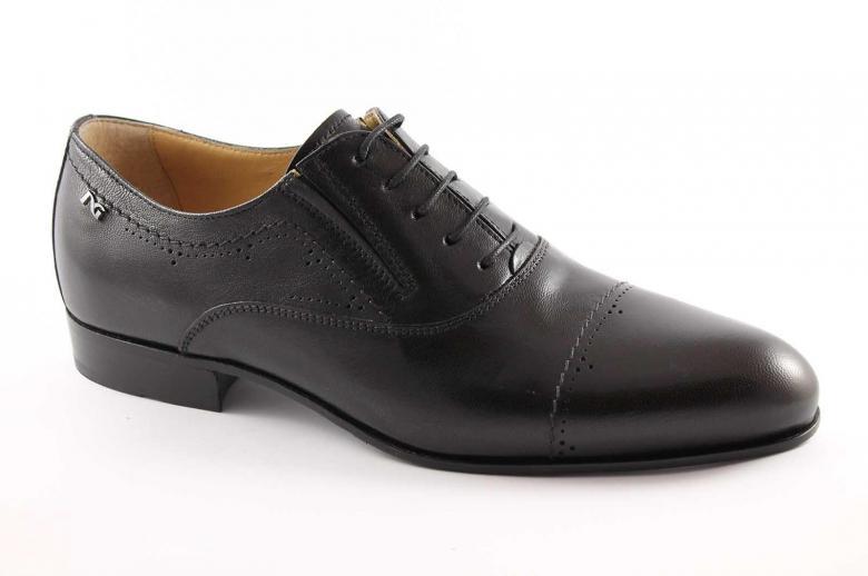 Nero giardini 2522 nero scarpe uomo eleganti francesina - Scarpe invernali uomo nero giardini ...
