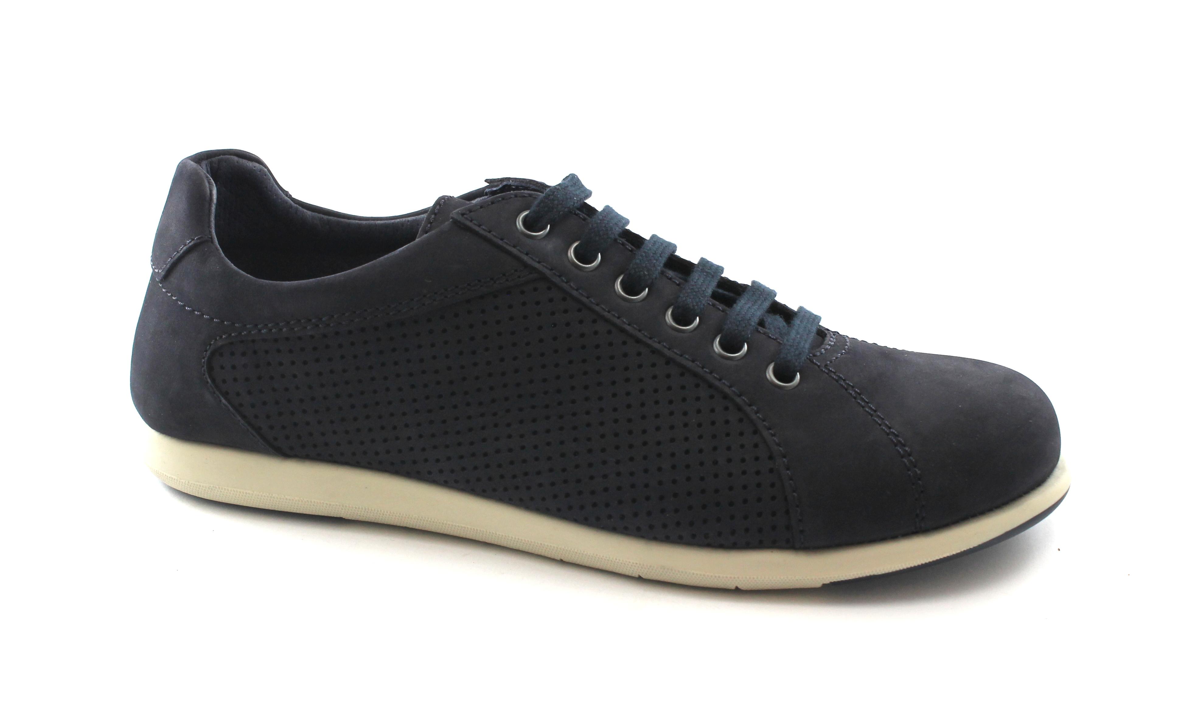 Scarpe casual da uomo  FRAU FX 11E3 navy blu scarpe uomo sneakers sportive lacci