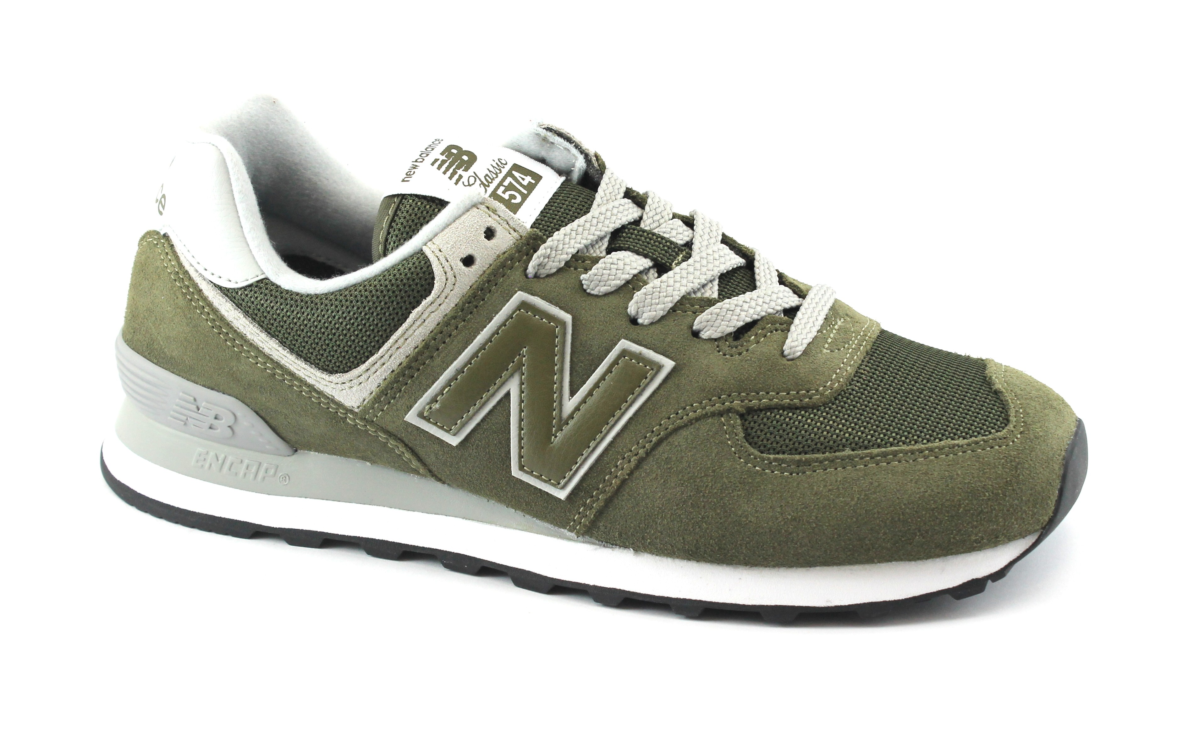 NEW Balance ML 574 D EGO olive Scarpe Sneaker Grigio Verde