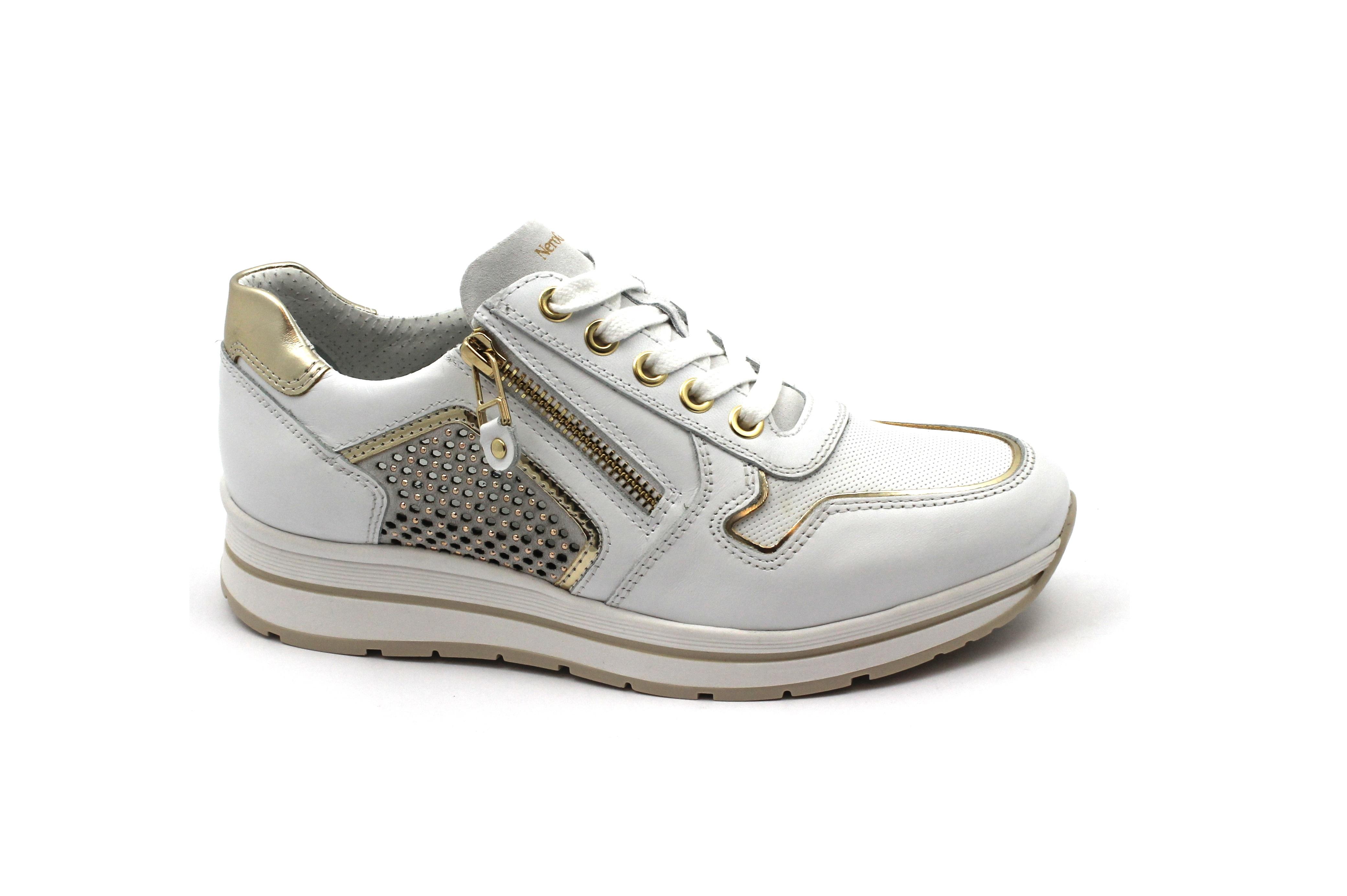 NERO GIARDINI 05241 bianco oro oro bianco bianco bianco scarpe donna sportive   e4e8e8