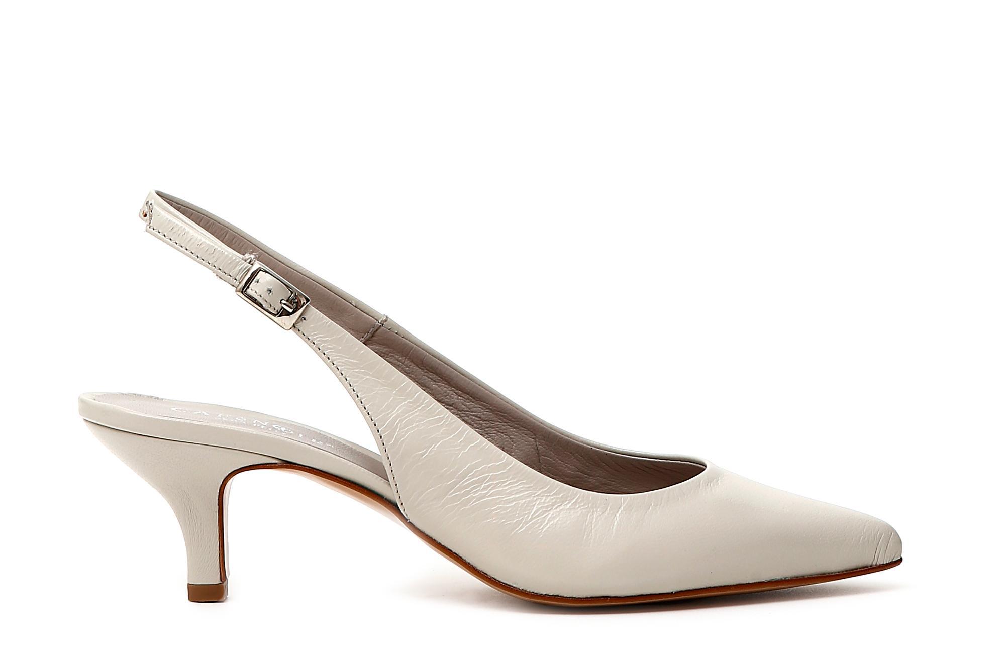 Chaussures Cafè Noir KMC252 Decollette Decollette Decollette OUVERT EN CUIR TALON DERRIÈRE 55 MM 92da6c