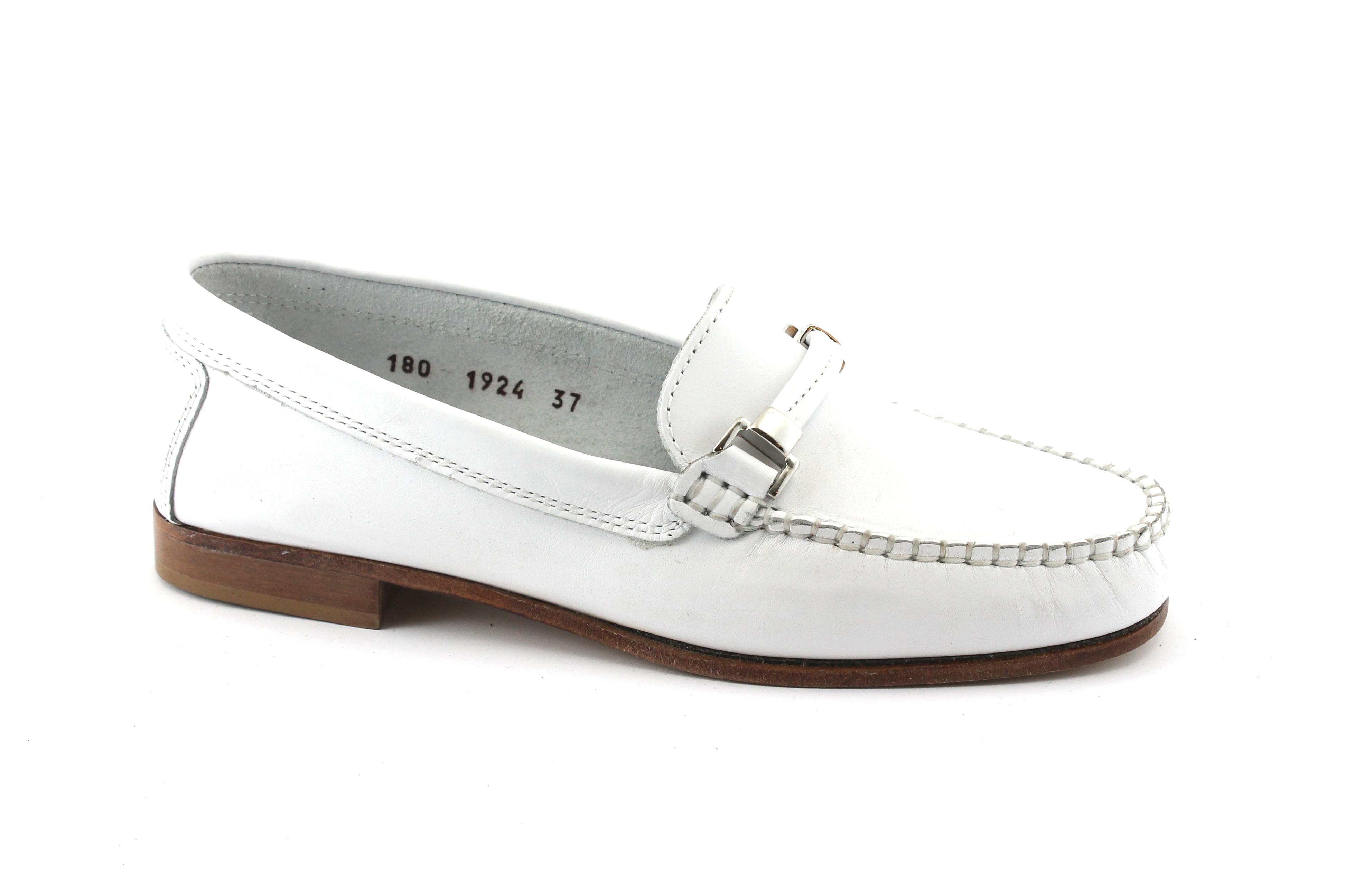 Donna Invecchiato Bianco 180c Mocassini Scarpe Manila UFvqW