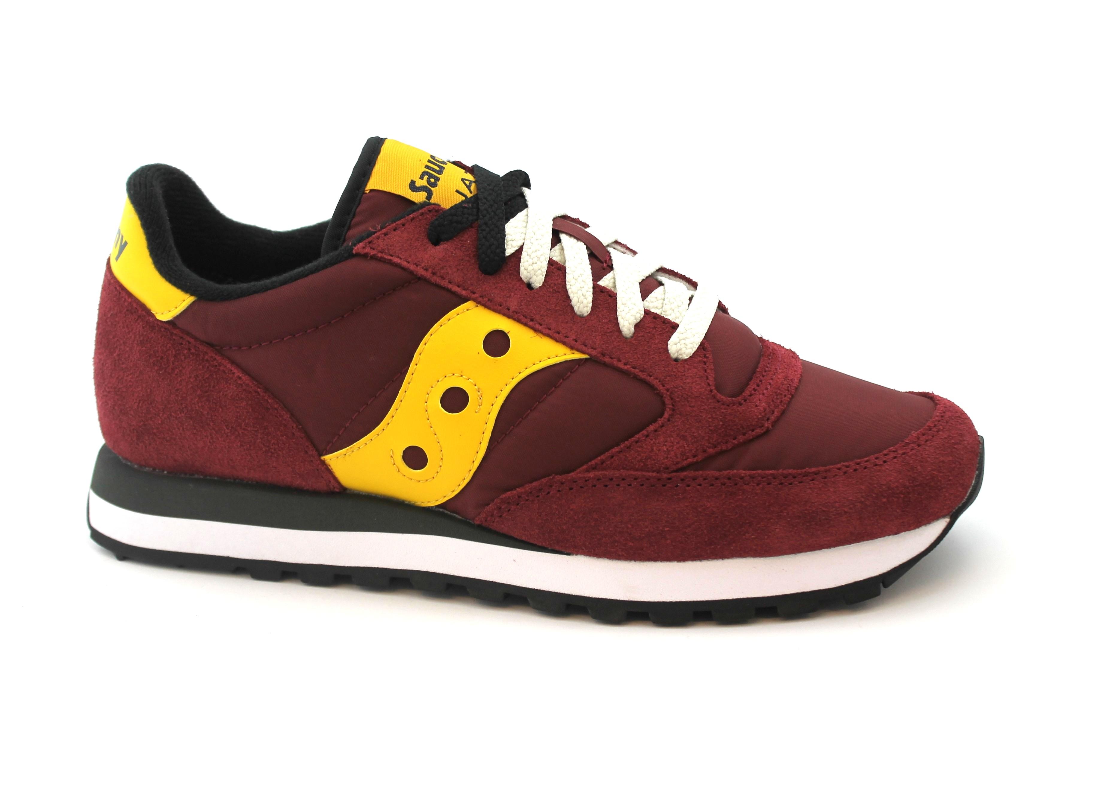 SAUCONY S2044-415 JAZZ scarpe ORIGINAL  rosso giallo scarpe JAZZ uomo sneakers lacci 8bee09