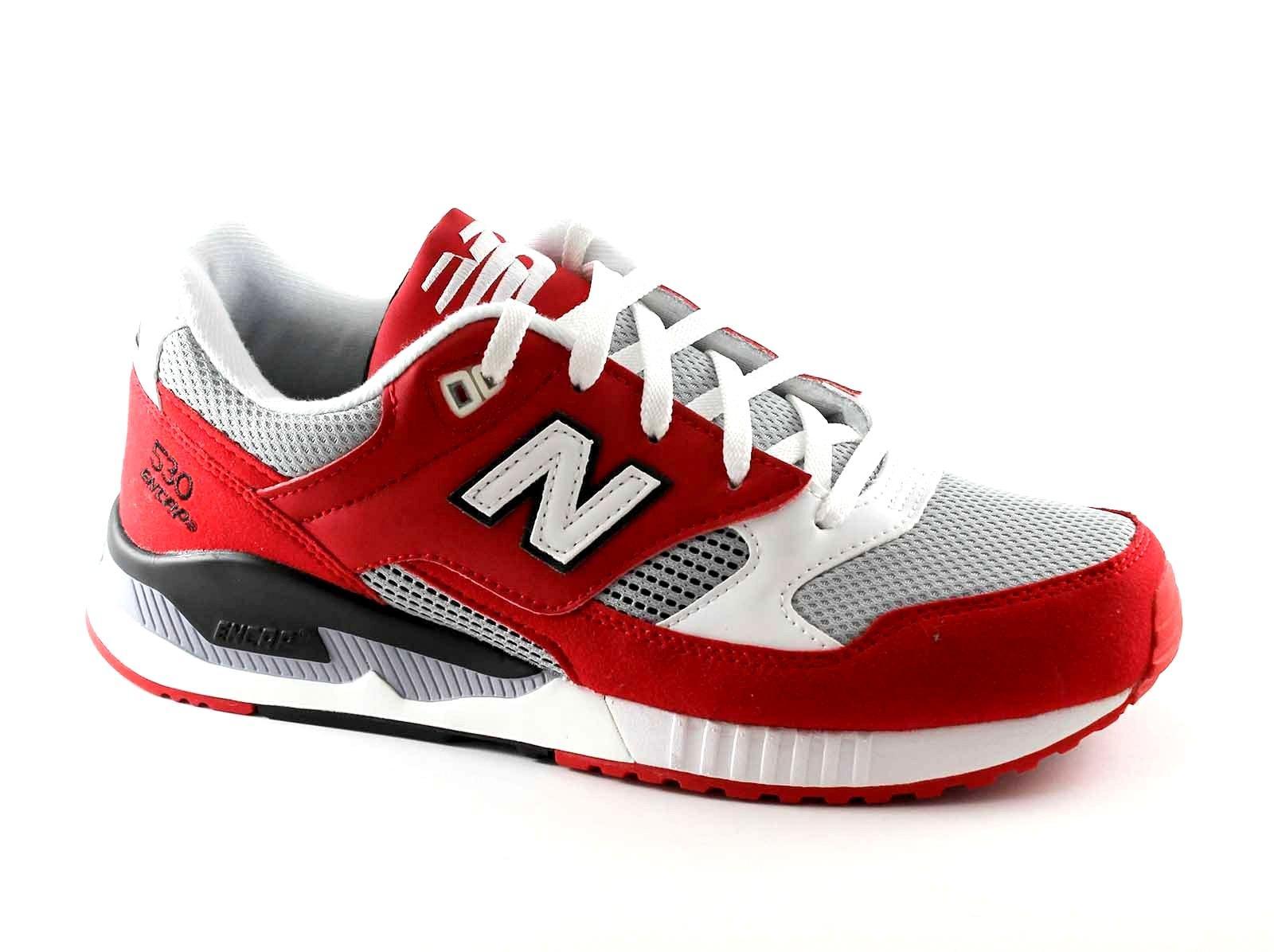 NEW BALANCE M530 CVA rosso grigio running scarpe uomo sneakers lacci