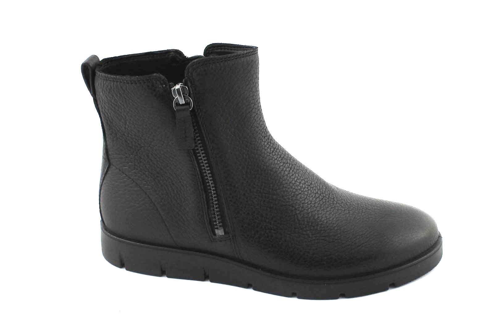 Grandes zapatos con descuento ECCO 282013 BELLA black nero scarpe donna stivaletto zip pelle