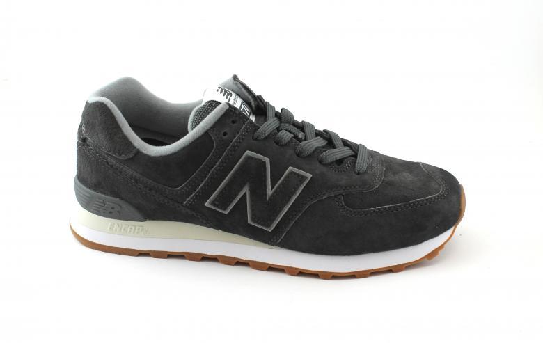 NEW BALANCE ML574 EPC grigio scuro scarpe uomo sneakers lacci  5211953e429