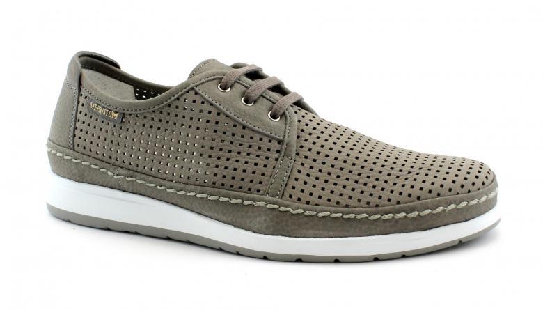 MEPHISTO HARRY PERF grey grigio scarpe uomo sneakers pelle lacci fori camoscio | eBay