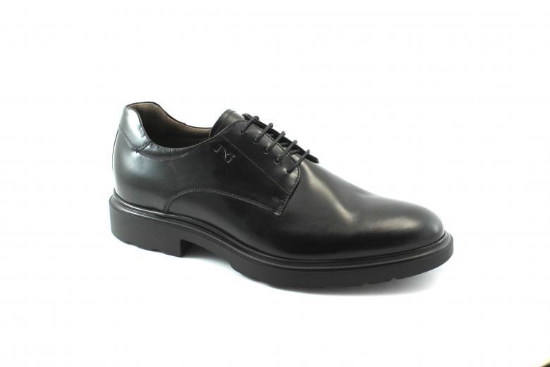 NERO GIARDINI 521 nero scarpe uomo eleganti derby pelle lucida | eBay