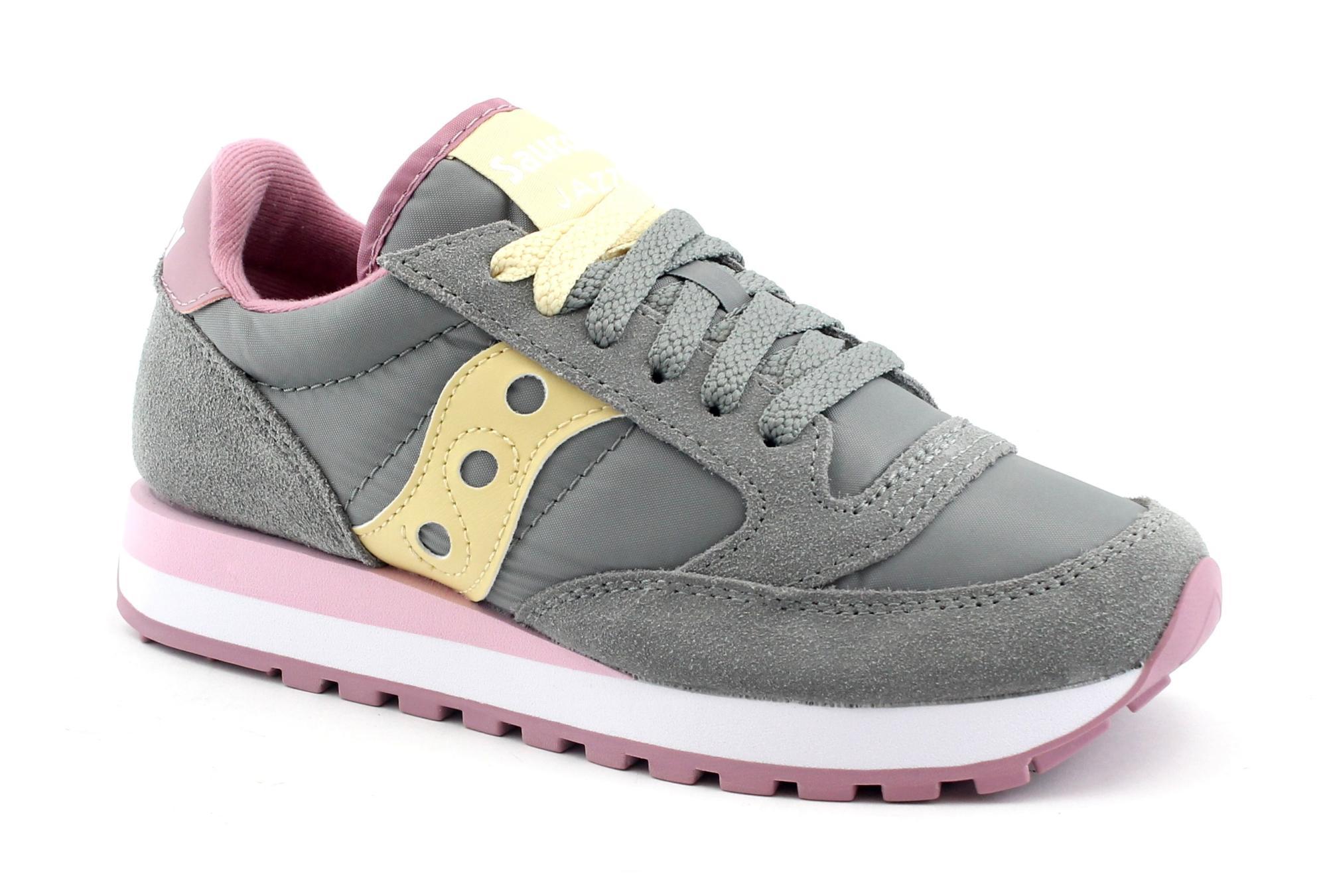 SAUCONY S1044-515 JAZZ ORIGINAL grigio rosa scarpe donna sneakers