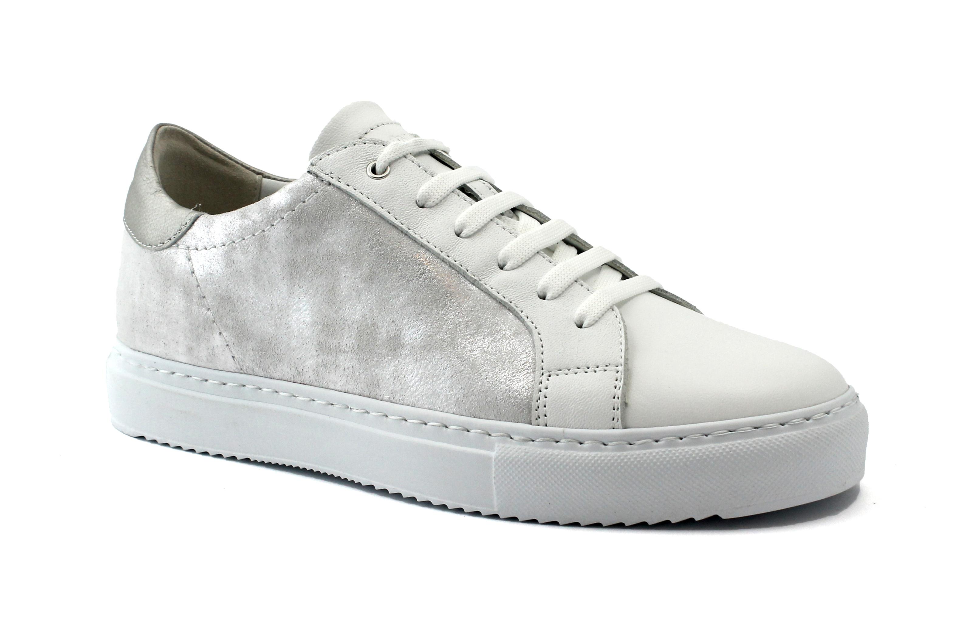 GRUNLAND GRUNLAND GRUNLAND HOAN SC4567 baskets chaussures femme argent lasso 8d04b8